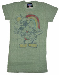 Disney Mickey Mouse Good Times Womens Tee Shirt by Junk Food Clothing