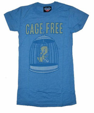 Womens Tweety Bird Cage Free Tee Shirt by Junk Food Clothing