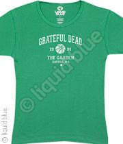 Grateful Dead Boston 1991 Vintage Style Juniors T-Shirt