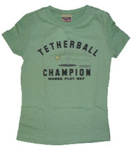 NAPOLEON DYNAMITE TETHERBALL CHAMPION JUNIORS TEE SHIRT BY MIGHTY FINE