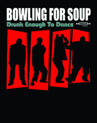 Bowling For Soup Drunk Enough To Dance Mens Tee Shirt
