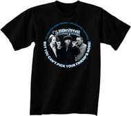 THE THREE STOOGES PICK YOUR FRIENDS MENS TEE SHIRT