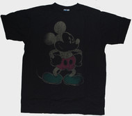 Junk Food Mens Mickey Mouse Negative Tee Shirt
