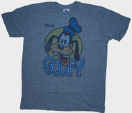 Junk Food Mens Disney Goofy Florida Tri Blend Tee Shirt