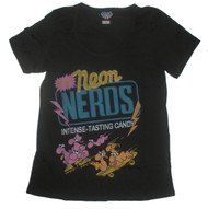 Neon Nerds Candy Womens Tee Shirt by Junk Food Clothing