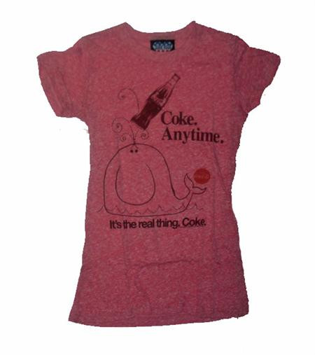 Coke Anything Womens Tee Shirt by Junk Food Clothing