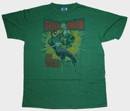 Mens Junk Food Green Lantern Emerald Warrior Tee Shirt