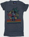 Disney Mickey Mouse Hawaii Womens Tee Shirt by Junk Food Clothing