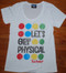 Junk Food Twister Let's Get Physical Womens Tee Shirt