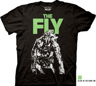 THE FLY MONSTER GLO-IN-THE-DARK MENS TEE SHIRT