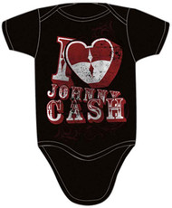 I Heart Johnny Cash Infant Bodysuit