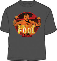 THE A-TEAM MR. T SHUT IT MENS LIGHTWEIGHT TEE SHIRT