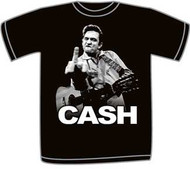 Johnny Cash Flippin Mens Tee Shirt
