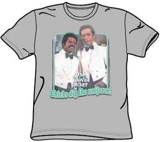 The Love Boat Chicks Dig The Uniform Tee Shirt