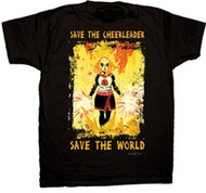 HEROES Save The Cheerleader Mens Tee Shirt