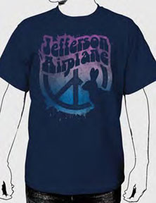 Jefferson Airplane White Rabbit Mens Tee Shirt