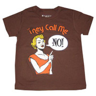They Call Me No Vintage Style Kids Tee Shirt