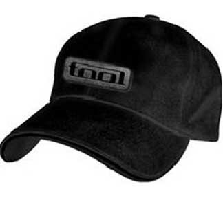 Tool Iron Logo Mens Black Fitted Hat