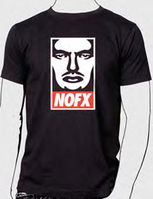 NOFX OBEY MENS TEE SHIRT