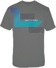 Jimmy Eat World Grey Z Mens Tee Shirt