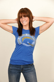 NFL San Diego Chargers Womens T-Shirt by Junk Food Clothing