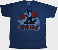 Felix The Cat Swinger Mens Tee Shirt by Junk Food Clothing