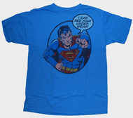 Mens Superman I Can See Your Underpants Tee Shirt by Junk Food Clothing