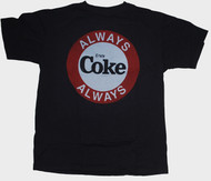 Mens Junk Food Coca-Cola Always Coke Tee Shirt