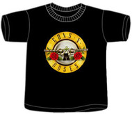 Guns N Roses Bullet Logo Toddler Tee Shirt