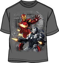 IRON MAN 2 STARK DEFENSE-M JUVY TEE SHIRT