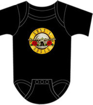 Guns N Roses Bullet Infant Bodysuit