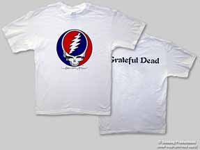 Grateful Dead Steal Your Face Logo Mens Tee Shirt