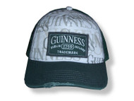 Guinness Distressed Trucker's hat