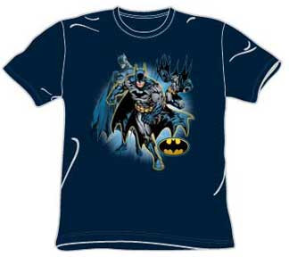 BATMAN COLLAGE MENS TEE SHIRT
