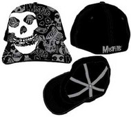 The Misfits Skull Patch Flex Fit Hat