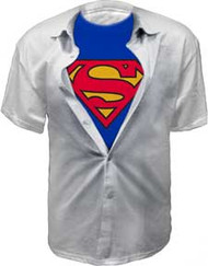 Superman Clark Kent Costume Tee Shirt