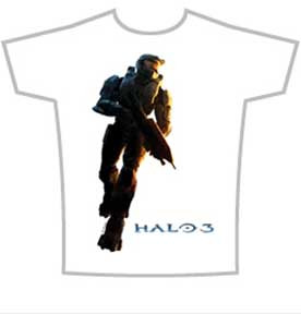 HALO 3 MASTER CHIEF LOGO MENS TEE SHIRT