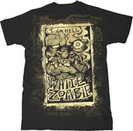 White Zombie Dead or Alive Mens Tee Shirt