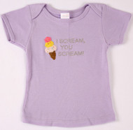 I Scream You Scream For Ice Cream Infant Tee Shirt