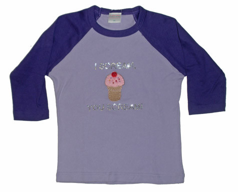 I Scream You Scream For Ice Cream Toddler Raglan Tee Shirt