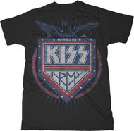 KISS PATRIOT MENS TEE SHIRT
