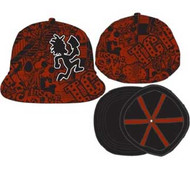 Insane Clown Posse Red Flatbill Cap