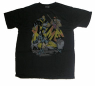 Mens X-Men T-Shirt in Black Wash by Junk Food Clothing