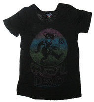 Grateful Dead Womens T-Shirt in Black Wash by Junk Food Clothing