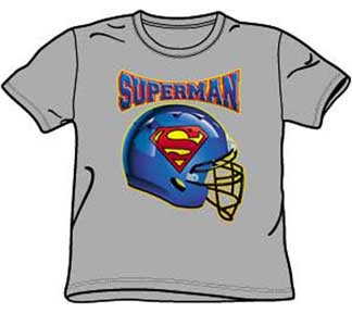 SUPERMAN HELMET YOUTH TEE SHIRT
