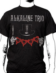 ALKALINE TRIO TOP HAT MENS TEE SHIRT