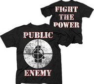 PUBLIC ENEMY FIGHT THE POWER KIDS LIGHTWEIGHT TEE SHIRT