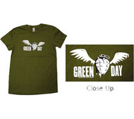 Green Day Grenade Juniors T-Shirt