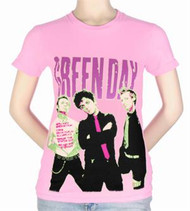 Women's: Green Day - Big Photo T-Shirt