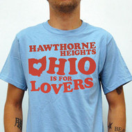 Hawthorne Heights Ohio is for Lovers Mens Tee